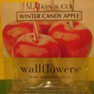 Bath & Body Works 2 Winter Candy Apple Wallflower Refills