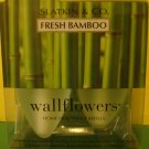 Bath and Body Works 2 Fresh Bamboo Wallflower Refill