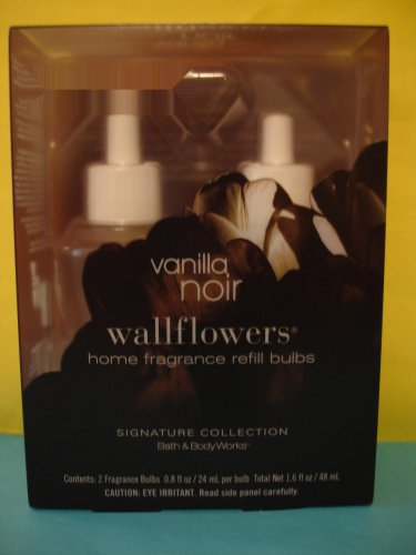 Bath & Body Works 2 Vanilla Noir Wallflower Refills
