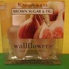 Bath & Body Works 2 Brown Sugar & Fig Wallflower Refill