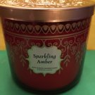 Bath & Body Works Sensual Sparkling Amber 3 Wick Large