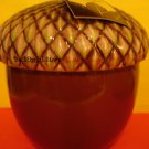 Bath & Body Works Slatkin Acorn Figural Candle in Leaves Scent