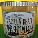 Bath & Body Works White Barn Vanilla Bean Marshmallow Large 3 Wick Candle