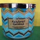 Bath & Body Works Rainforest Gardenia 3 Wick Large