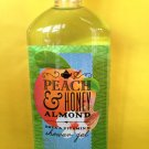 Bath & Body Works Peach and Honey Almond Shower Gel Full Size