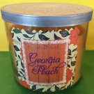 Bath & Body Works Georgia Peach 3 Wick Cande Large