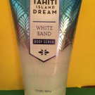 Bath & Body Works Tahiti Island Dream White Sand Scrub Large Full Size