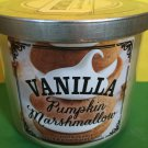 Bath and Body Works Vanilla Pumpkin Marshmallow 3 Wick Candle Large