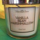 Bath & Body Works Vanilla Bean Marshmallow 4 oz Candle