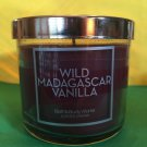 Bath & Body Works Wild Madagascar Vanilla 4 oz Candle