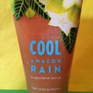 Bath & Body Works Cool Amazon Rain Body Scrub Large Full Size
