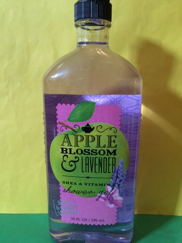 Bath & Body Works Apple Blossom and Lavender Shower Gel Full Size