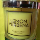Bath and Body Works Lemon Verbena 4 oz Candle