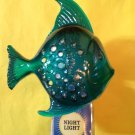 Bath and Body Works Blue Fish Night Light Wallflower Unit