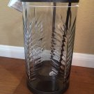 Bath and Body Works Palm Leaves Glass and Metal Luminary Candle Holder