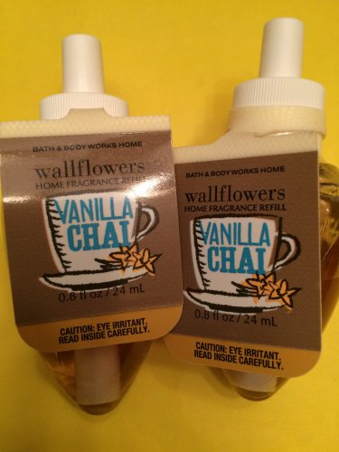 Bath & Body Works 2 Vanilla Chai Wallflower Refill