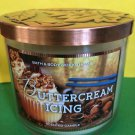 Bath and Body Works Buttercream Icing 3 Wick Candle Large