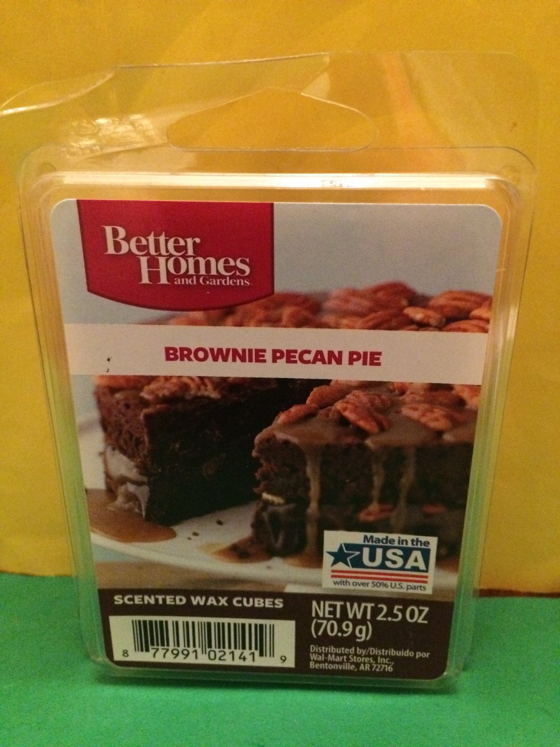 Better homes and gardens brownie pecan pie scented wax cubes - Better homes and gardens scented wax cubes ...