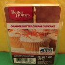 Better Homes and Gardens Orange Buttercream Cupcake Scented Wax Cubes
