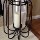 Bath and Body Works Brushed Copper Metal Luminary Candle Holder Ex Large