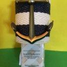 Bath and Body Works Navy Cream Anchor Wallflower Unit