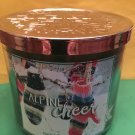 Bath & Body Works Alpine Cheer 3 Wick Candle Large