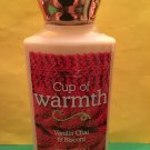 Bath & Body Works Cup Of Warmth Body Lotion Full Size