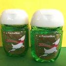 Bath & Body Works 2 Vanilla Bean Noel Anti Bacterial Hand Gel