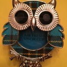 Bath & Body Works Blue Owl Scentportable Car Visor Clip