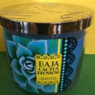 Bath & Body Works Baja Cactus Blossom 3 Wick Candle Large