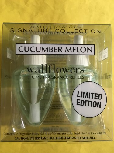 Bath & Body Works 2 Cucumber Melon Wallflower Refill