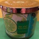 Bath & Body Works Island Margarita Candle 3 Wick Large