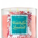 Bath & Body Works Watermelon Lemonade Large 3 Wick Candle