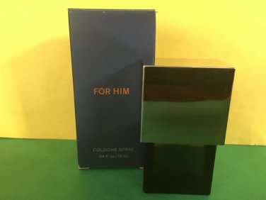 Victoria's Secret Very Sexy For Him Cologne Spray 0.34 oz Navy Box