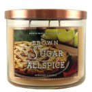 Bath and Body Works Brown Sugar & Allspice 3 Wick Candle