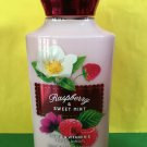 Bath & Body Works Raspberry and Sweet Mint Body Lotion Full Size
