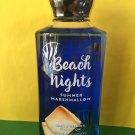 Bath & Body Works Beach Nights Marshmallow Shower Gel Full Size