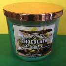 Bath and Body Works Chocolate Pistachio 3 Wick Candle Large