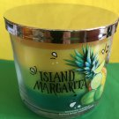 Bath and Body Works Island Margarita Triple Layer 3 Wick Candle Large