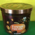 Bath and Body Works Pumpkin Fireside Wick Candle Large