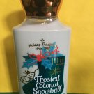 Bath & Body Works Frosted Coconut Snowball Body Lotion Full Size 8 oz