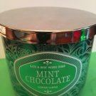 Bath & Body Works Home Holiday Mint Chocolate 3 Wick Candle Large
