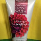 Bath and Body Works A Thousand Wishes Creamy Body Wash Large Full Size