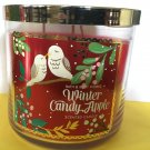Bath and Body Works Winter Candy Apple 3 Wick Candle Large