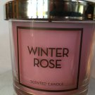 Bath and Body Works Winter Rose Single Wick 4 oz Candle