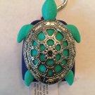 Bath and Body Works Turtle Pocketbac Holder Key Chain