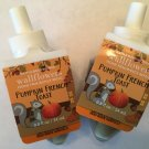 Bath & Body Works 2 Pumpkin French Toast Wallflower Refill Bulbs