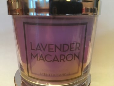 Bath and Body Works Lavender Macaron Single Wick 4 oz Candle