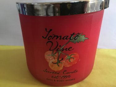 Bath & Body Works Tomato Vine 3 Wick Cande Large