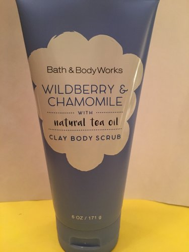 Bath & Body Works Wildberry and Chamomile Body Scrub